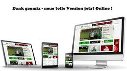 neue tolle Features bei der geomix Homepage 2.0